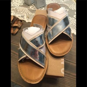 Toms Silver Sandals